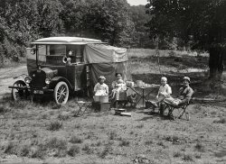 Auto-Campers: 1920