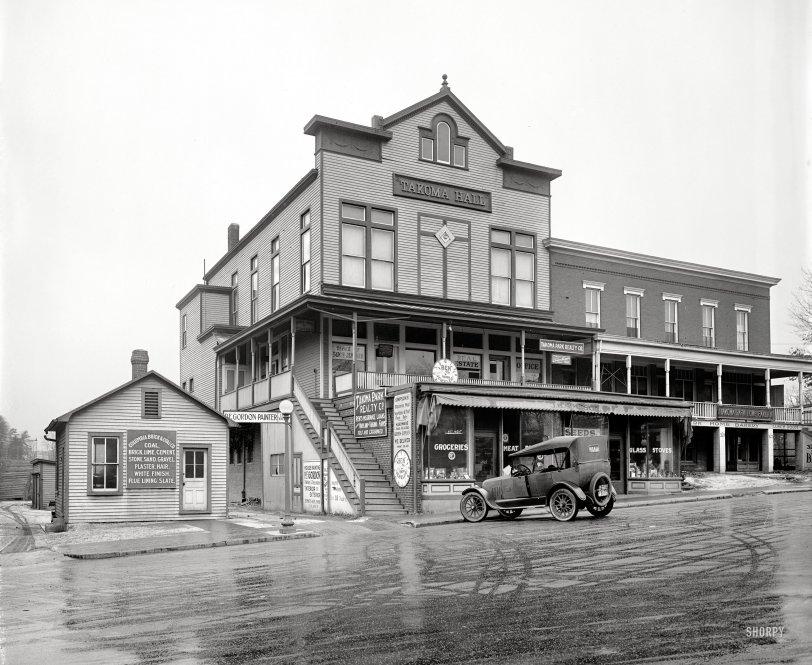 Takoma Hall: 1922
