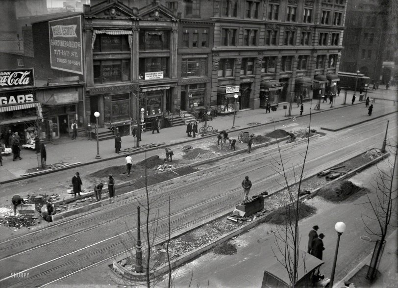 Curb Work: 1920