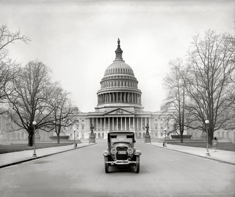 Lincoln at the Capitol: 1924