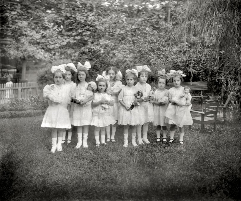 Doll Party: 1913