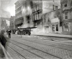 Fire on F Street: 1913