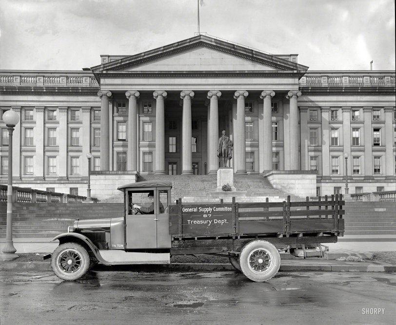 Treasury Truck: 1925