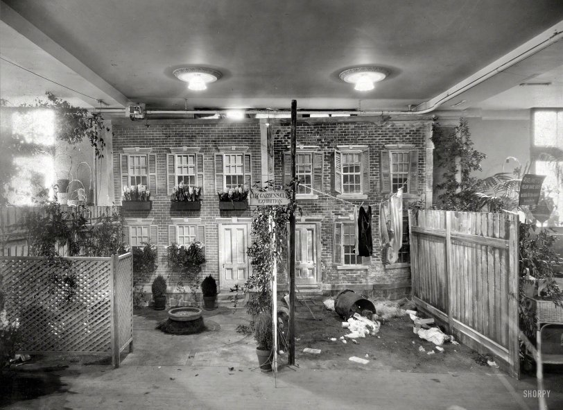 Tenement Beautiful: 1921