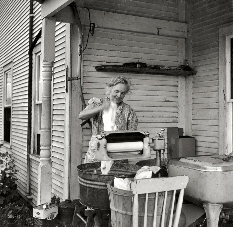 Modern Farmwoman 1940 Shorpy Old Photos Vintage