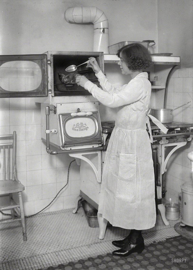 Basting With Ethel: 1921