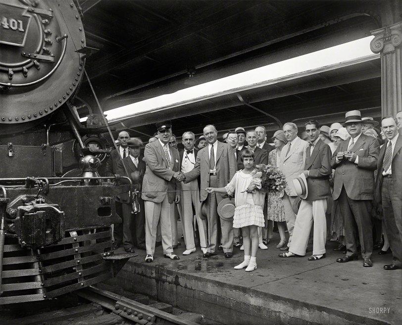 Train Christening: 1929