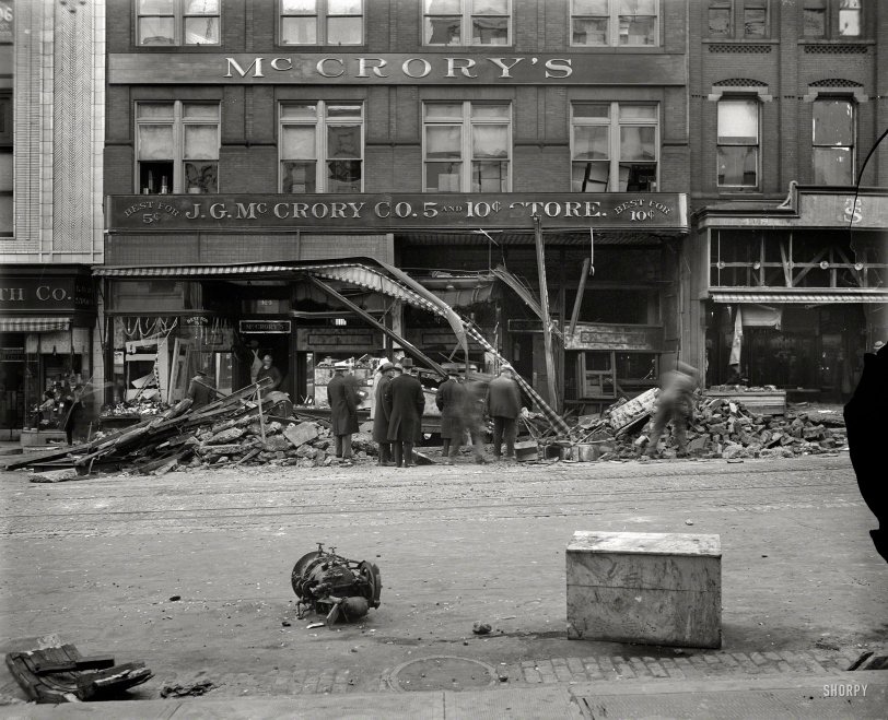Dime store disaster 1929 shorpy old photos Five and dime stores history