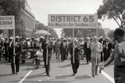 Constitution Avenue: 1963