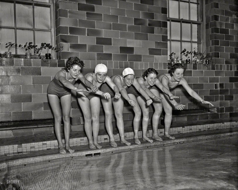 Ten-Foot Pool: 1936
