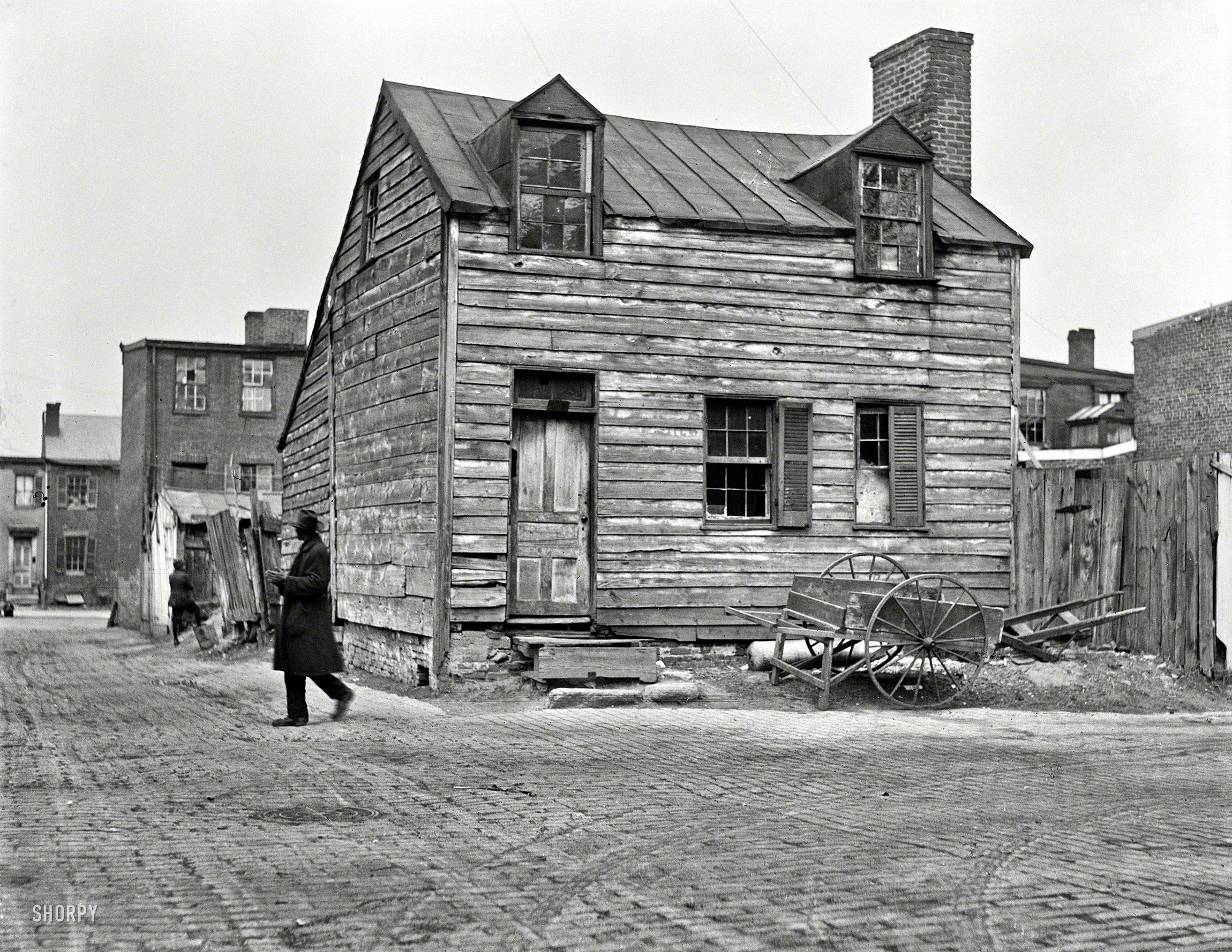 Shorpy historic picture archive washington rustic 1923 for Buy house in dc