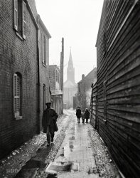 Alley View: 1925