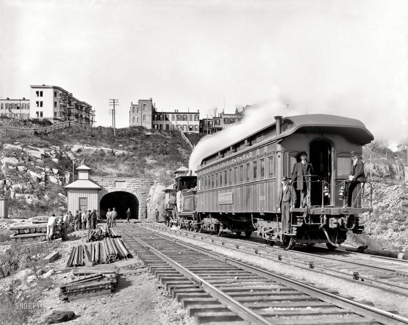 Bergen Tunnel: 1900