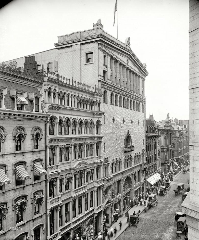 Tremont Temple: 1900
