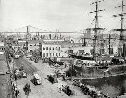 South Street Seaport: 1901