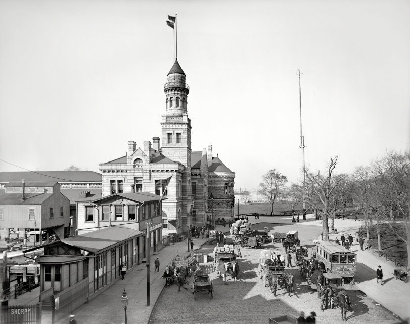 The Barge Office: 1900