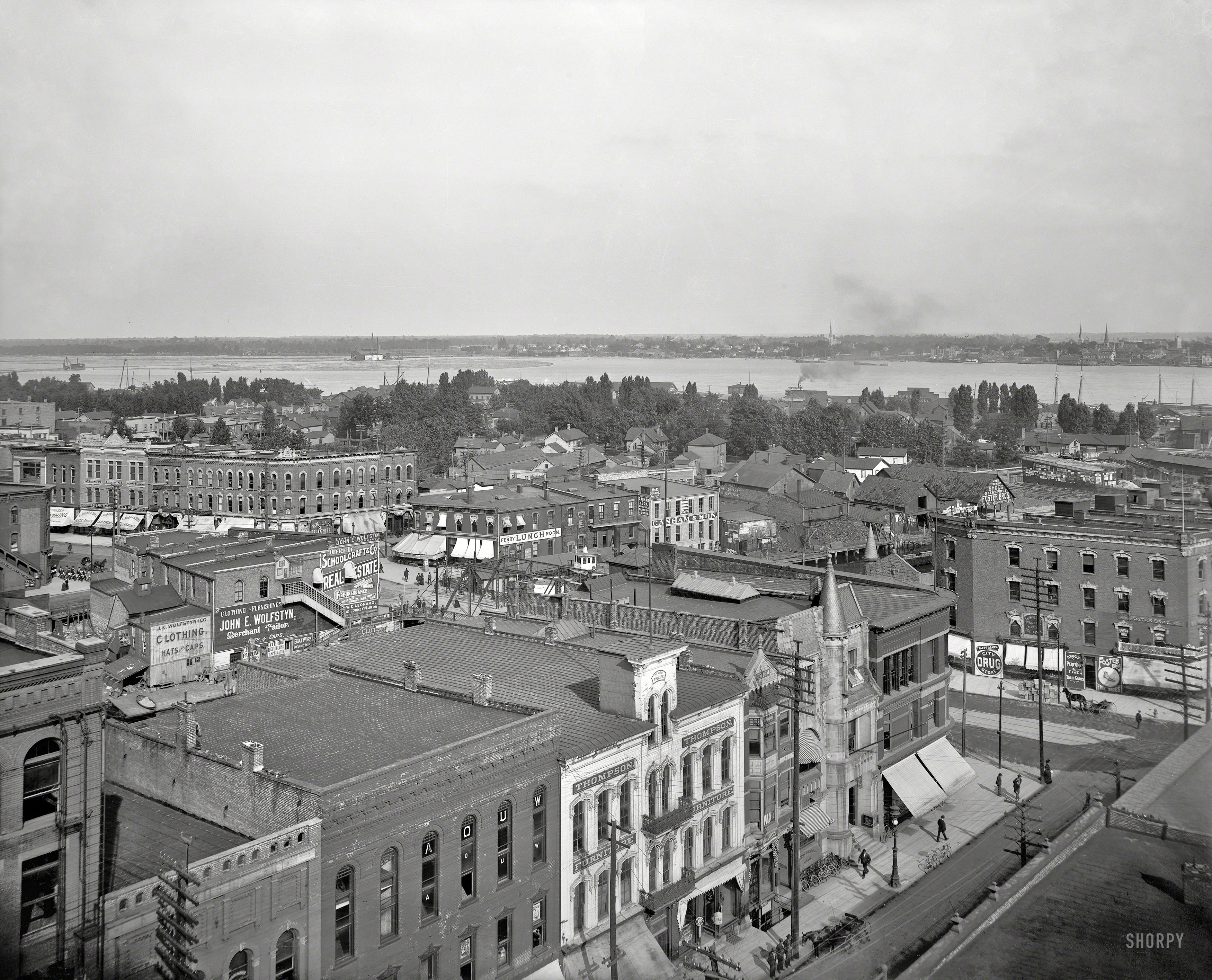 Shorpy Historic Picture Archive Port Huron 1900 High