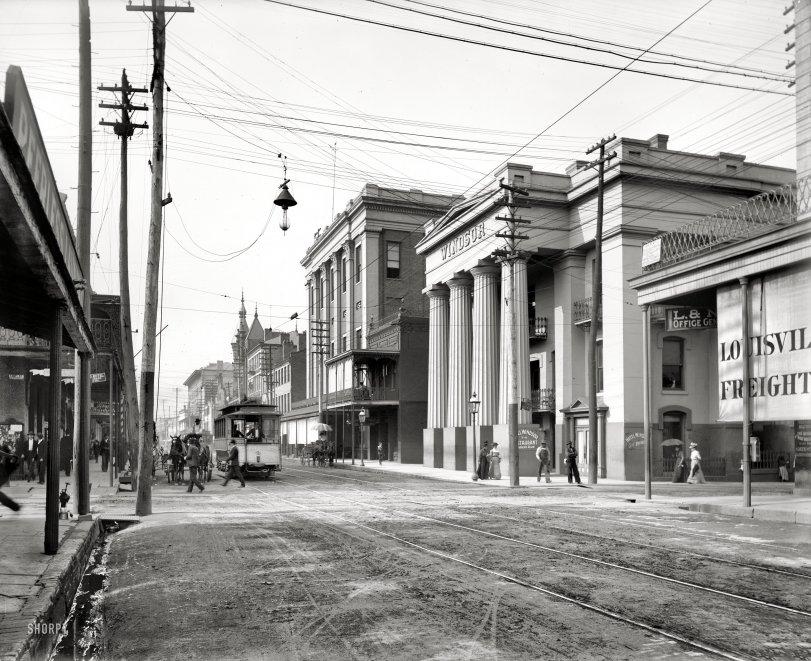 Royal Street: 1901