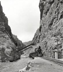 Royal Gorge: 1900