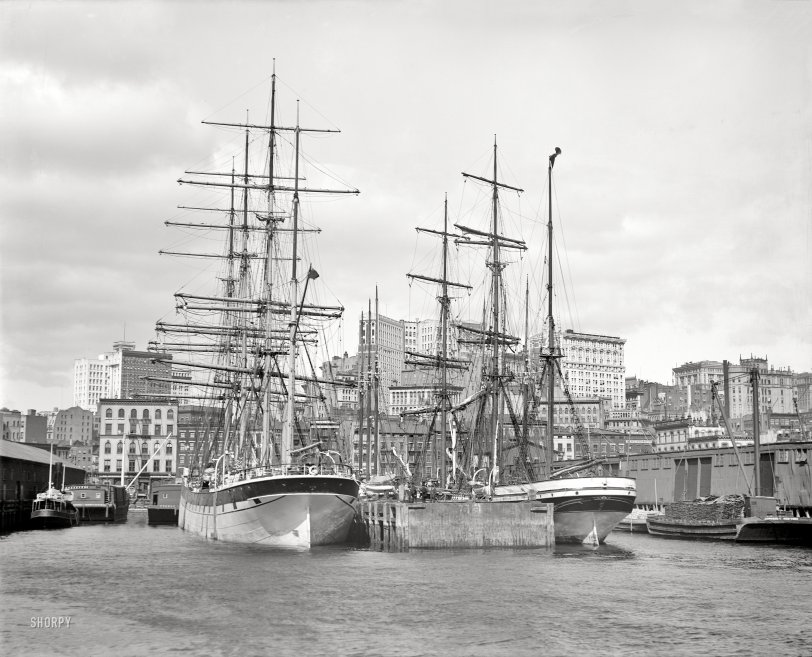 Nautical New York: 1900