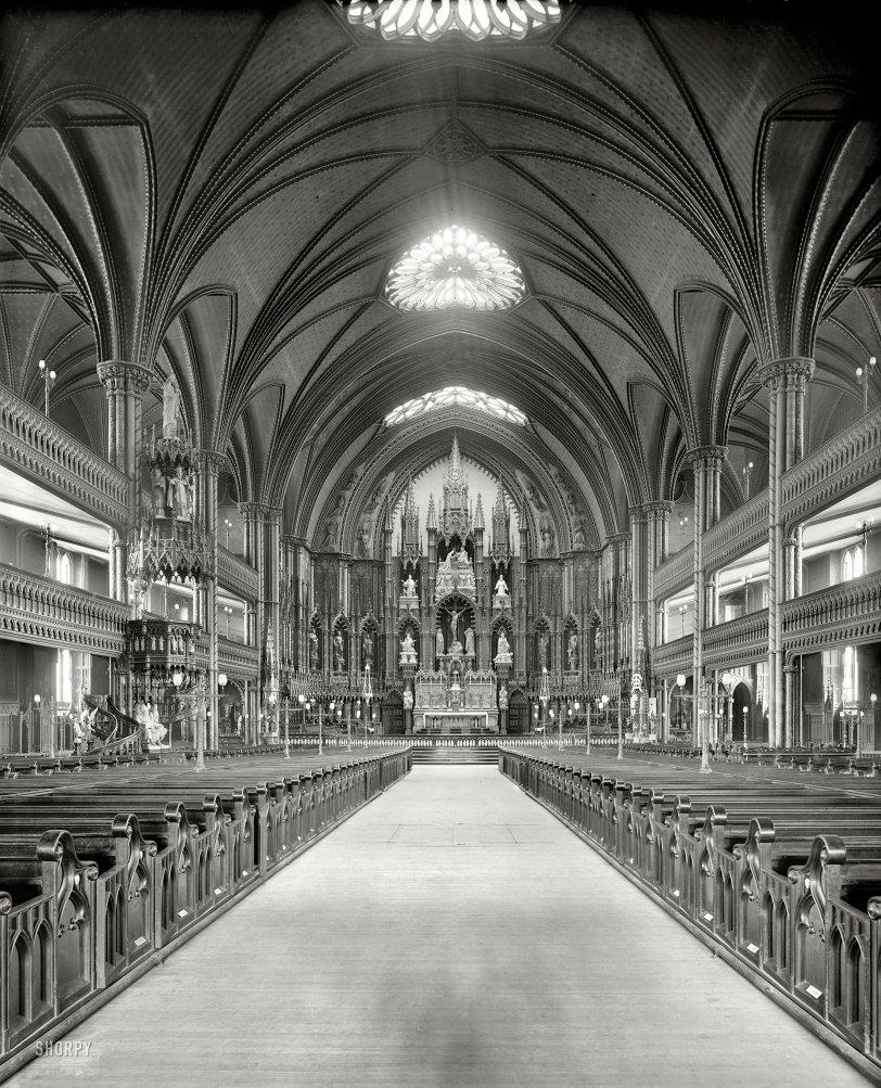 Notre Dame de Montreal: 1900