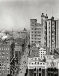Up Broadway: 1901