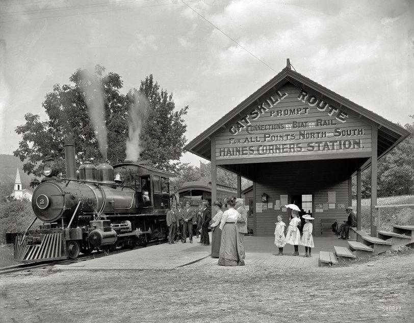Catskill Route: 1902