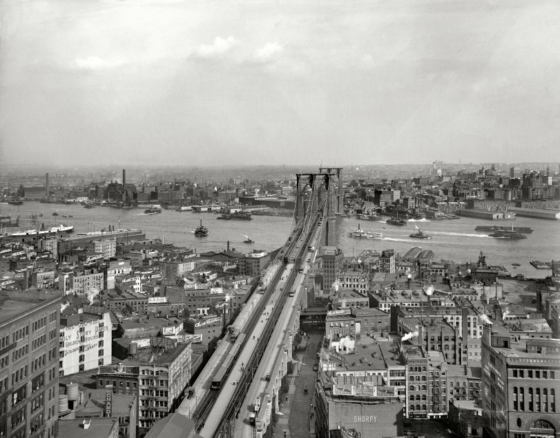 Brooklyn Bridge: 1903