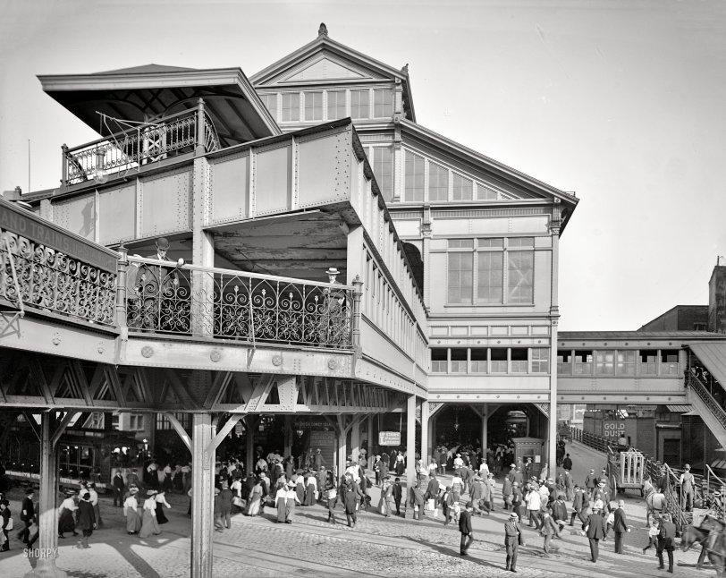 Manhattan Terminal: 1906