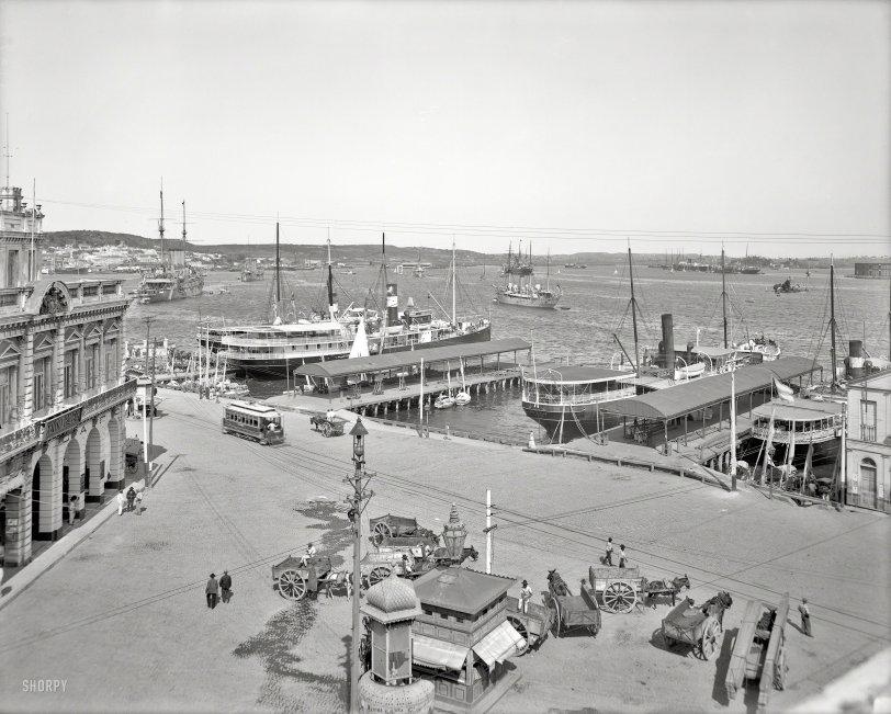 Havana Harbor: 1904