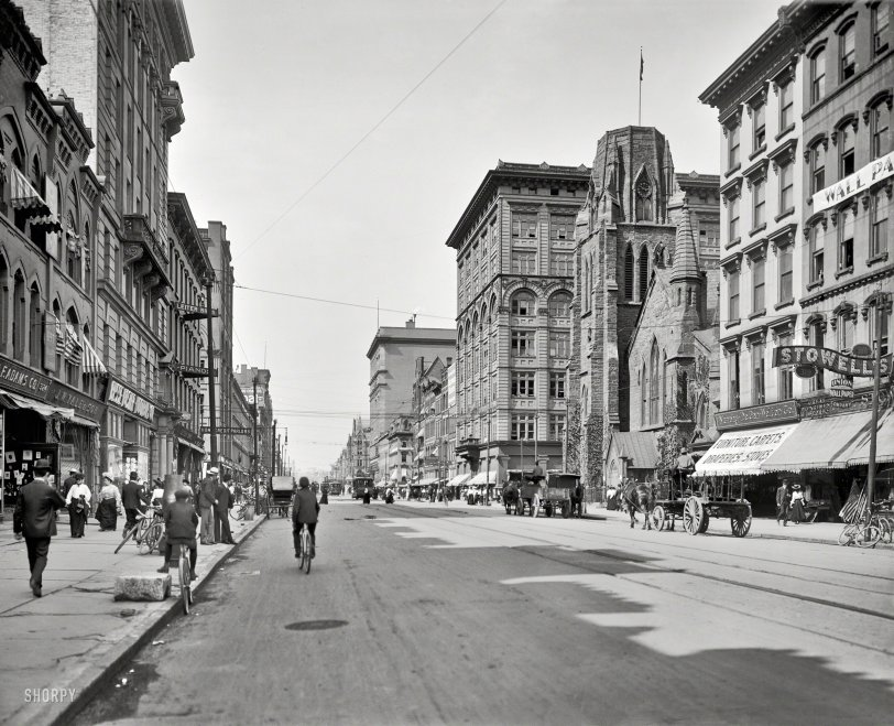 The Continental Nyc >> South Salina: 1905 | Shorpy Old Photos | Poster Art