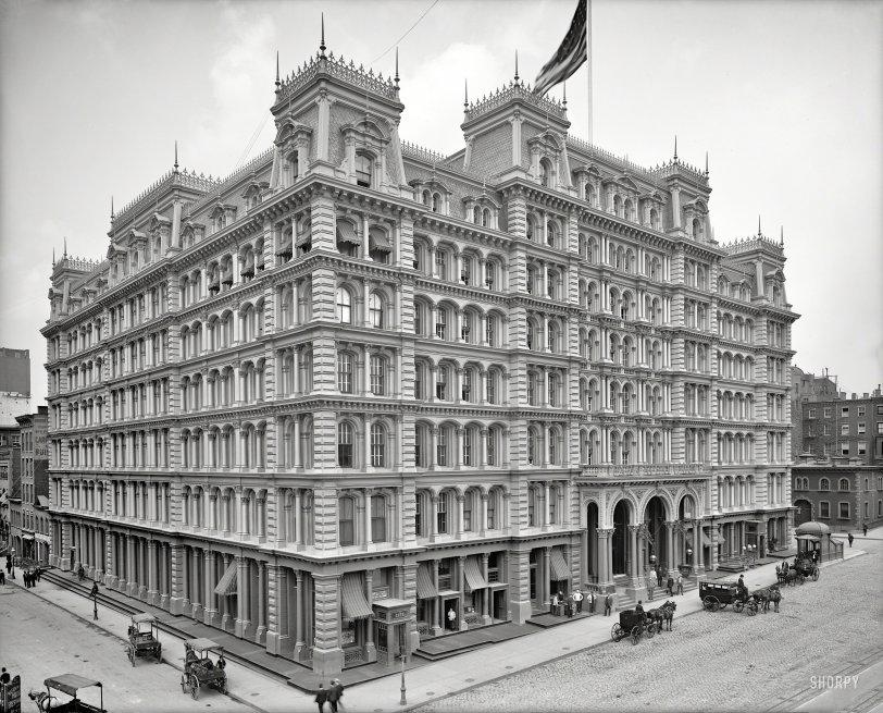 Park Avenue Hotel: 1905