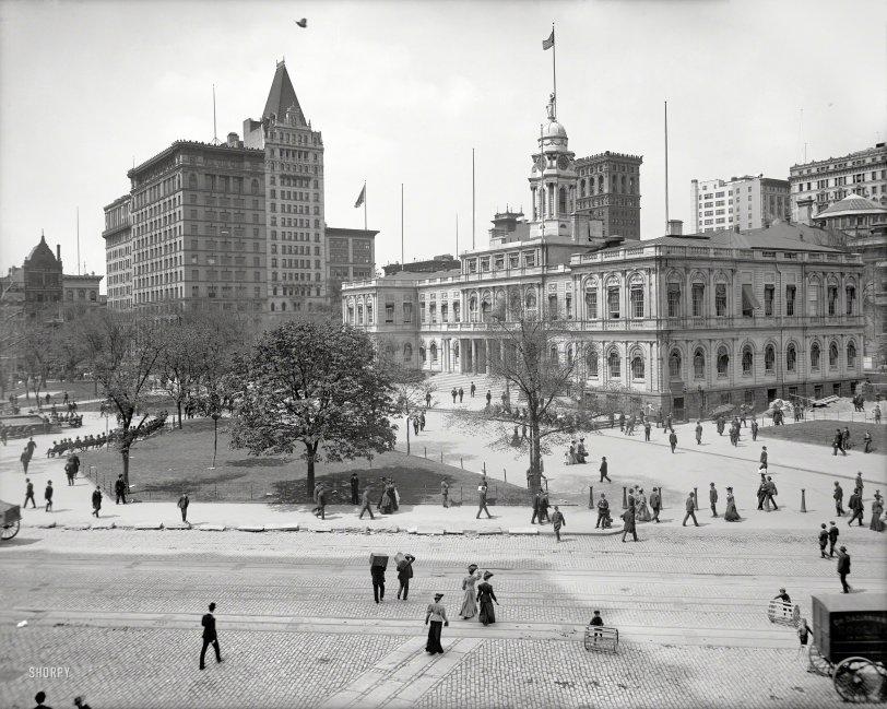 City Hall Park: 1905