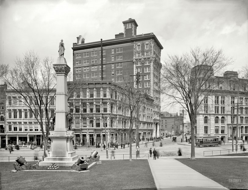 Court and Chenango: 1905