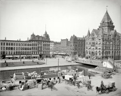 Clinton Square: 1905