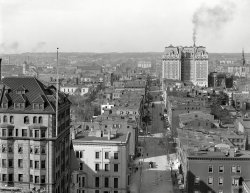 Bird's Eye Baltimore: 1906