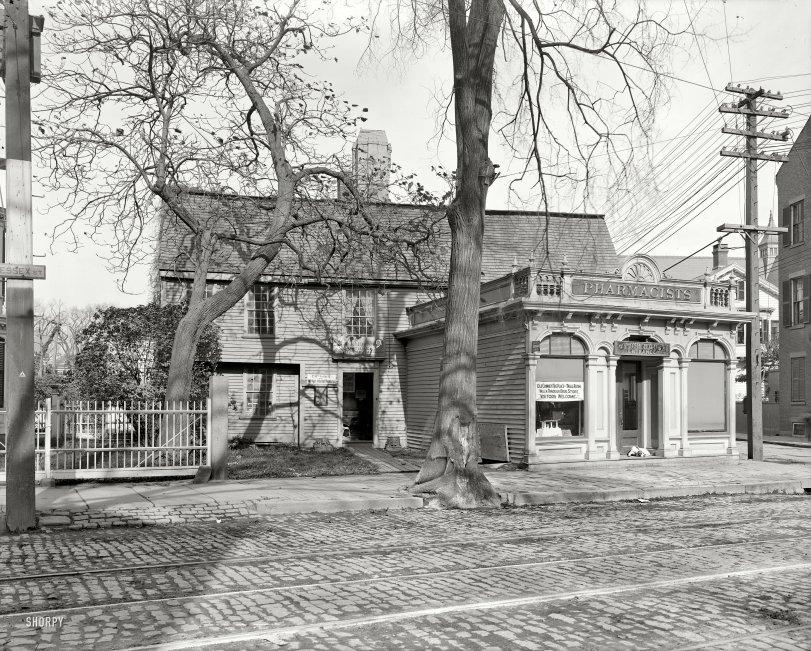 Salem Witch House: 1906