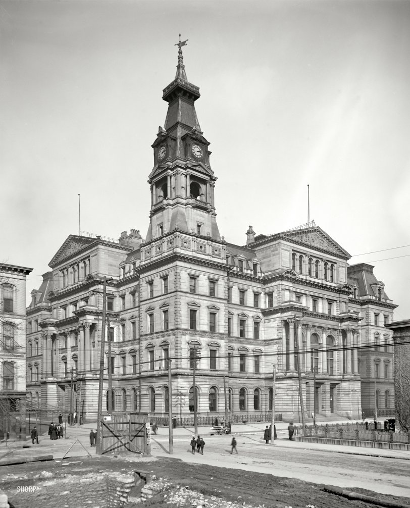 Postal Castle: 1906