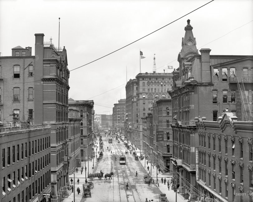 Griswold Street: 1906
