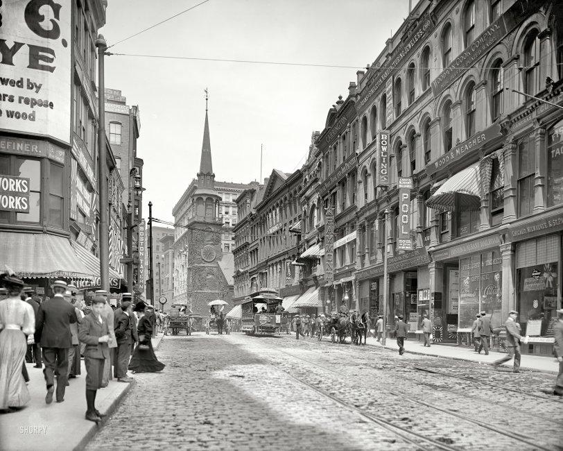 Bustling Beantown: 1906