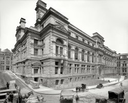 Boston Court House: 1906