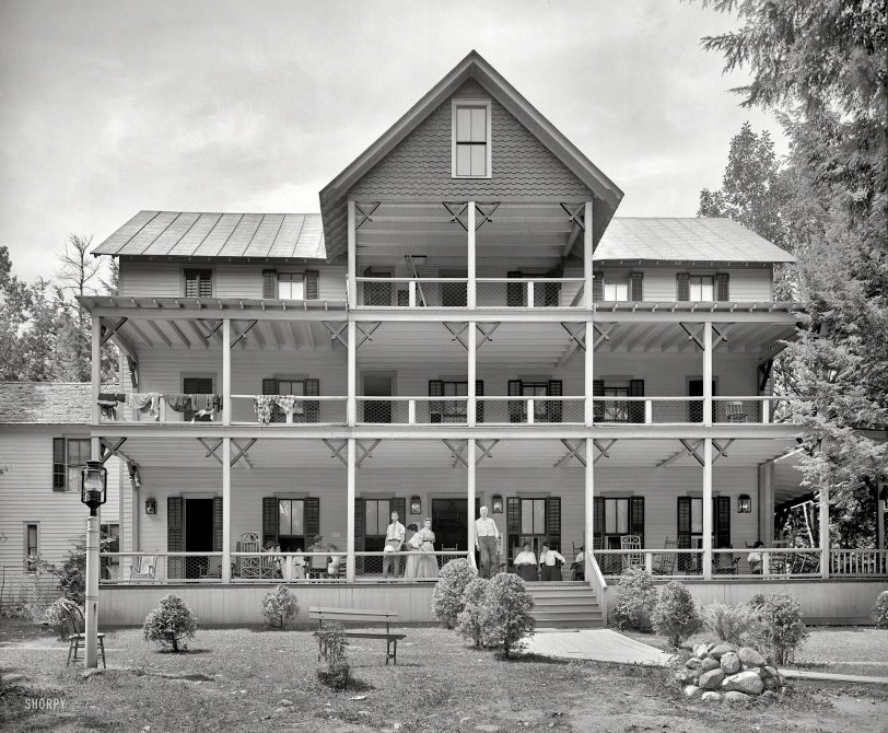 Adirondack Porch: 1906