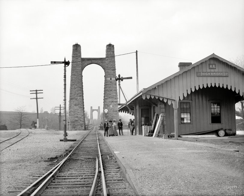High Bridge Depot: 1907