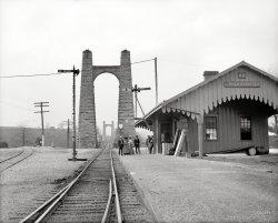 High Bridge Depot: 1907