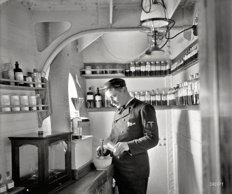 Ship's Apothecary: 1900