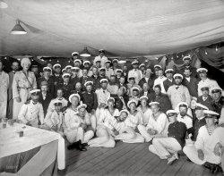 Russian Fleet Officers: 1893