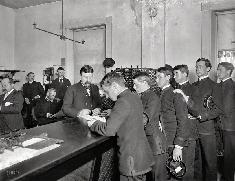 Navy Payday: 1905