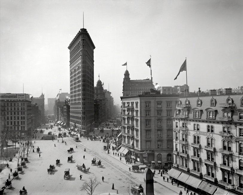 On Broadway: 1903