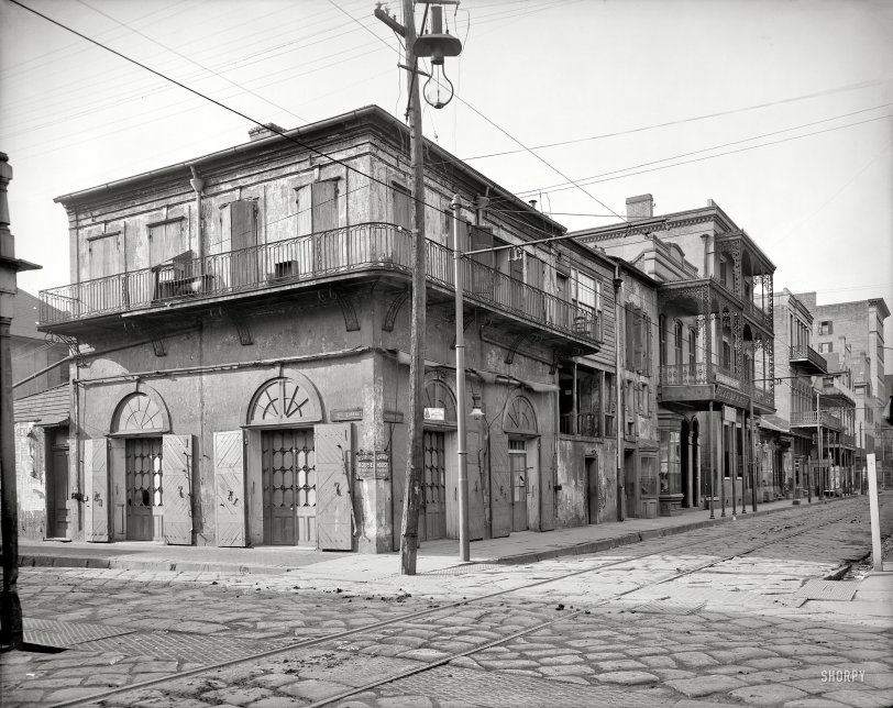 Absinthe and Bourbon: 1903