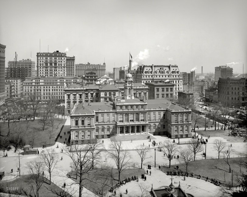 New York City Hall: 1903